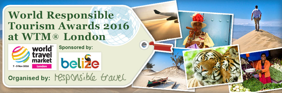 Longlisted for World Responsible Tourism Awards 2016!