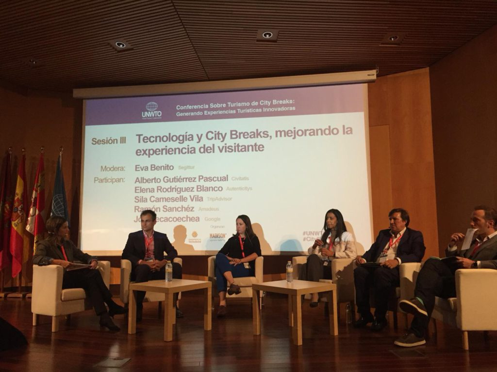 CityBreaks Conference in Valladolid 2018